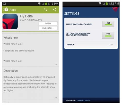 delta app android delta fly app for android 2 5 1 bug fix sorta delta pointsdelta points