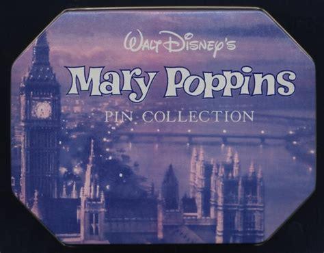 mary poppins boxed pin set auction howardlowery com disney mary poppins pin