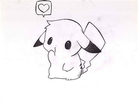 i sew cute and draw pokemon kawaii how easy pikachu drawings to draw cute with