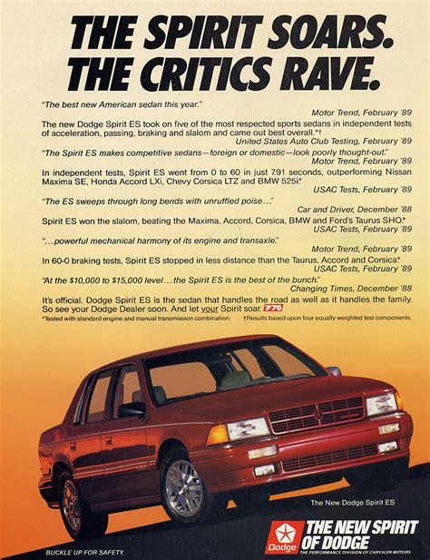 free car repair manuals 1995 dodge spirit navigation system dodge spirit information and photos momentcar