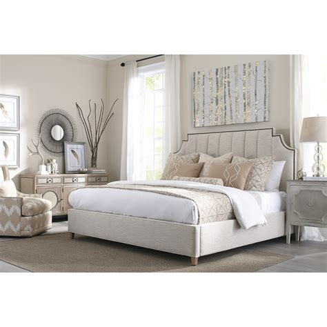 Style Headboards Rowe My Style Beds Lindley 60 King Upholstered Bed