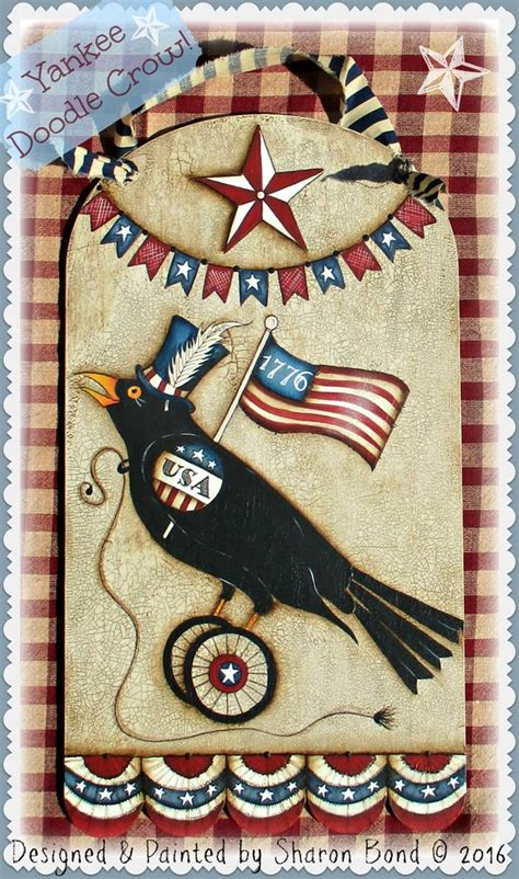 doodle pattern exles yankee doodle crow e pattern by sharon bond cupboard
