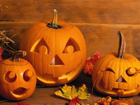 Halloween And Fall Decorating Ideas - zucche di halloween buffe