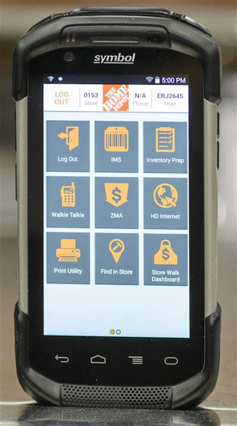 the home depot next generation first phone hits home