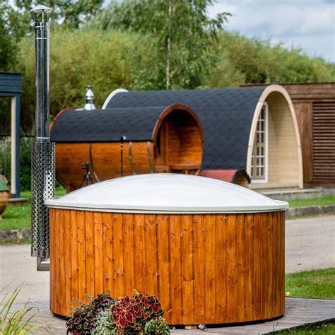 vasca da esterno vasca da esterno a tinozza in legno e vetroresina ottimo