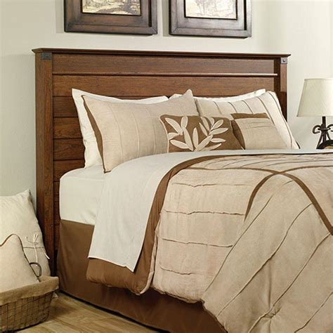 sauder headboard queen sauder carson forge washington cherry full queen headboard