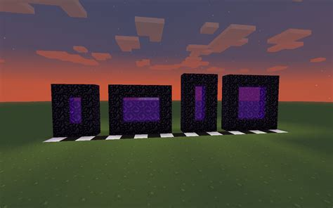 what pattern do you need for the nether reactor more ways to make a nether portal odd numbered nether