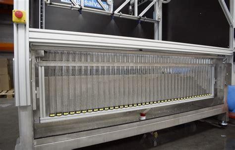 horizontal patternator aams salvarani aluminium horizontal spray table with