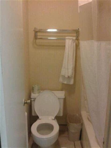 Super Small Bathroom Picture Of Travelodge Port Aransas Port Aransas Tripadvisor