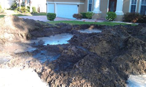 excessive water diagnosing septic drainfield problems southern water and soil
