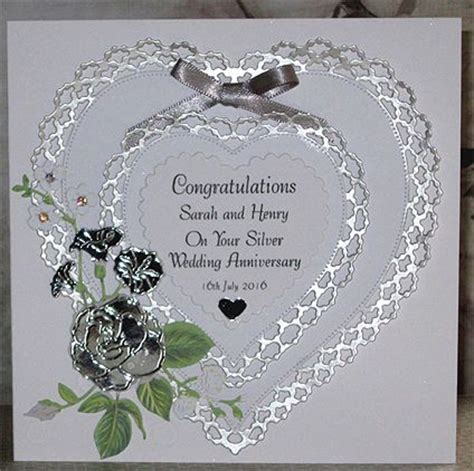 Lace Wedding Anniversary Ideas by Wedding Anniversary Card Designs Www Pixshark