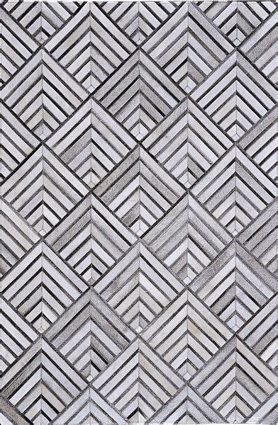 Geometric Cowhide Rug 17 Best Ideas About Patchwork Tiles On