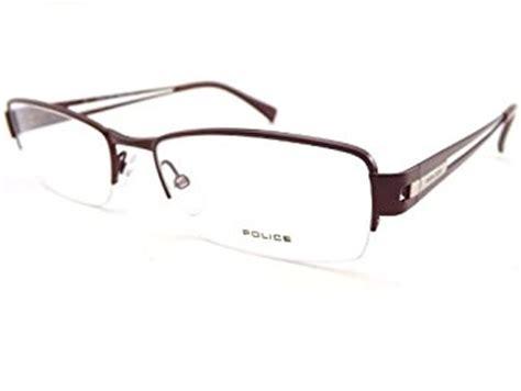 semi rimless mens prescription glasses v8715 8du