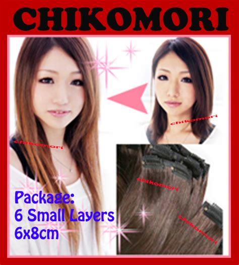 Rambut Sambung Ring chikomori hair clip bearfully