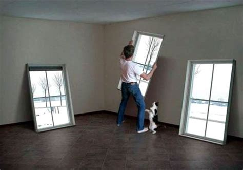 fake window light fake window wall hangings 187 funny bizarre amazing