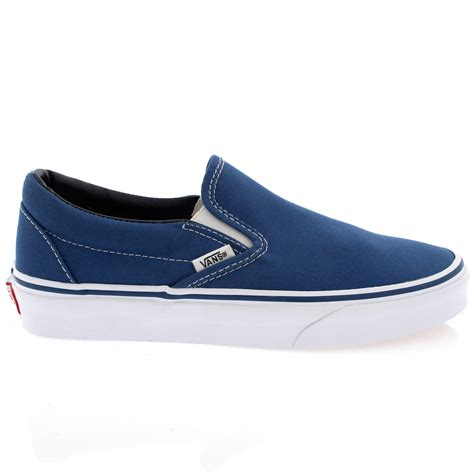 on sneakers mens vans classic slip canvas slip on sneakers casual