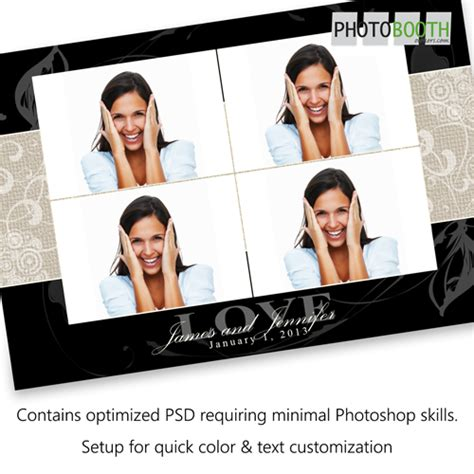 Extra Income With Premium Photo Booth Print Templates Photo Booth Owners Templates