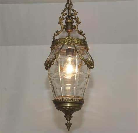 antique plafonnier nouveau en laiton lanterne style
