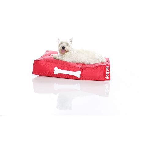 small pet bed doggielounge small red luxury pet bed