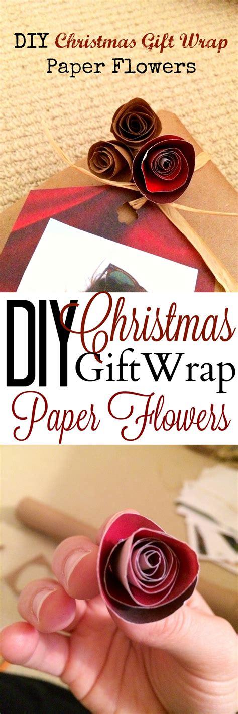 Diy Mba by Diy Gift Wrap Paper Flowers Mba Sahm