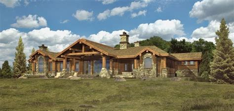 1 story log home plans ranch log home floor plans with unique ranch style house plans custom log modular home