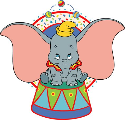 Disney Circus circus clipart dumbo pencil and in color circus clipart
