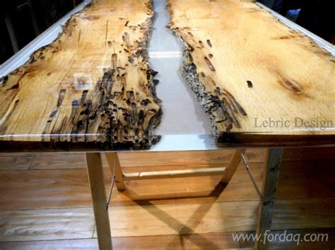 wood and resin table wood table and epoxy resin