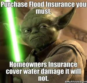 Flooded Basement Meme - listen to jedi yoda protect your family today while
