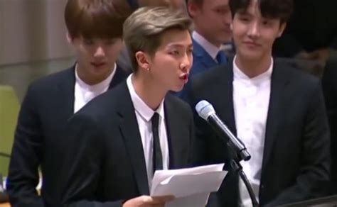 kim namjoon speech unicef read full speech of bts at un launch of new youth strategy