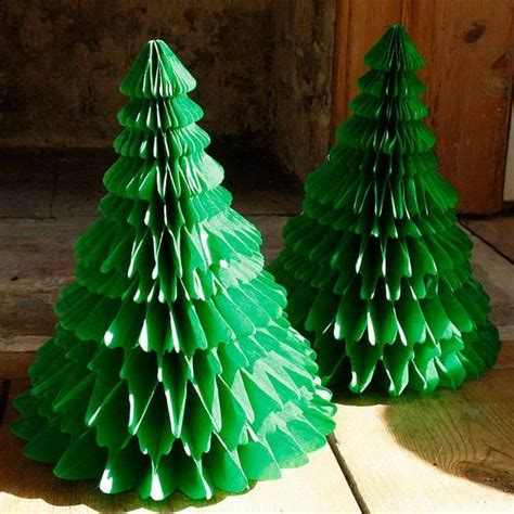 Handmade Paper Tree - handmade paper craft decorations family