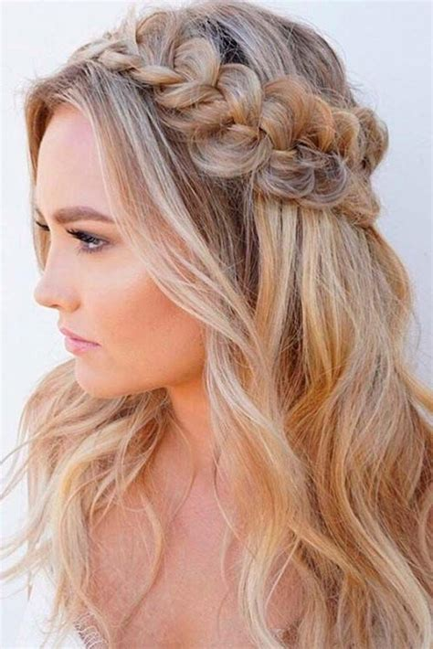 45 fabulous half up half down hairstyles to make you look