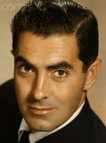 Powers Actor Tyrone Power Handsome And Debonair Actor From The