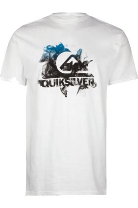 kaos original quiksilver white quiksilver t shirts quiksilver smoke my logo mens white