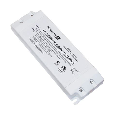 armacost lighting 45 watt led power supply dimmable driver