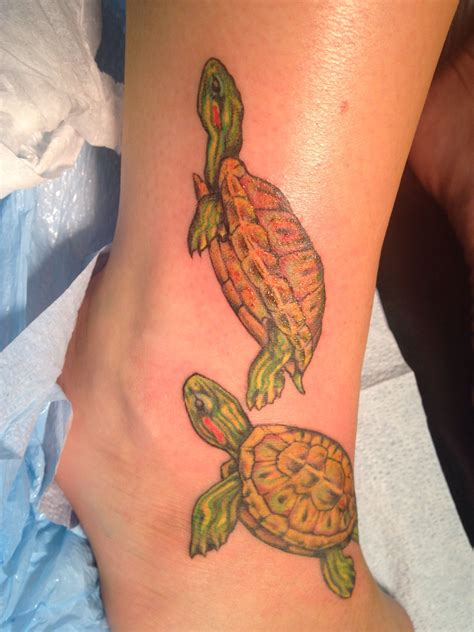 bellingham tattoo eared slider turtle tattoos