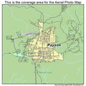 map of payson arizona landsat