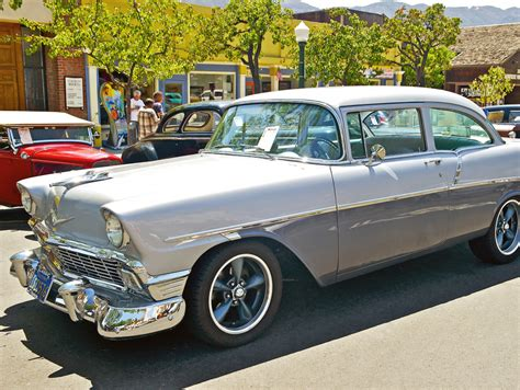 chevy car 1956 chevy 210 montrose car jigsaw puzzle in puzzle