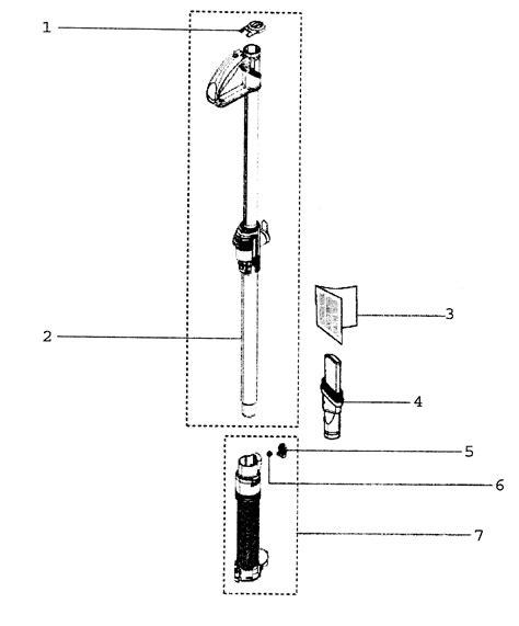 dyson dc24 parts diagram wand assy diagram parts list for model dc24 dyson inc