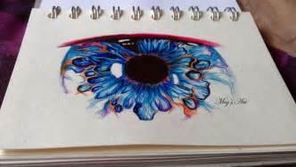 eye biro pen drawing by stardust12345 on deviantart