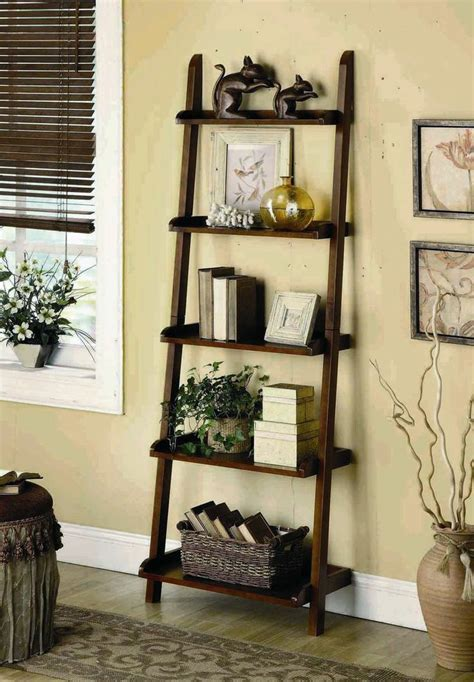 25 best ideas about ladder shelf decor on