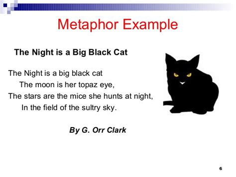 Meaning Of Black Cat At Your Door by Poetry Similies Metaphors Personifications