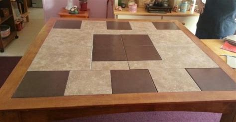 4 beautiful ceramic tile kitchen table designs home art