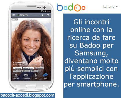 badoo accedi mobile badoo badoo per smartphone samsung