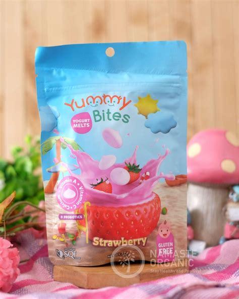 yummy bites yogurt melts strawberry gr
