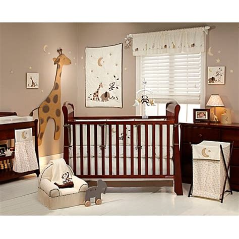 Nojo 174 Dreamy Nights 4 Piece Crib Bedding Set Bed Bath Nojo Crib Bedding Set