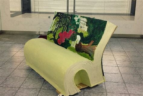 the bench book benches shaped like open books will pop up all over in