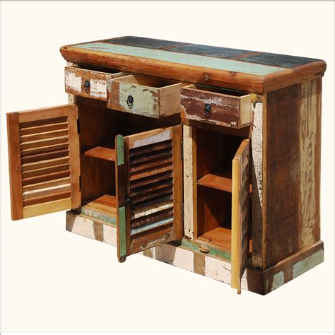 teak outdoor buffet cabinet matchless rustic reclaimed teak wood buffet with storage