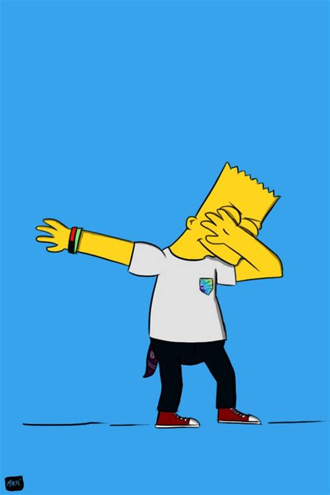 cartoon wallpaper zedge download bart dab wallpapers to your cell phone bart