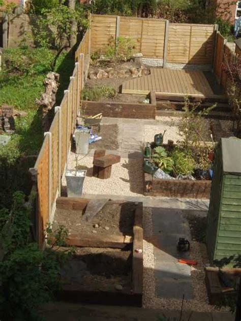 Garden Ideas With Railway Sleepers Railway Sleepers