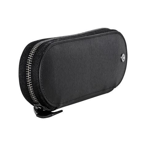 Montblanc Leather 1 montblanc westside grain black leather 1 pen pouch